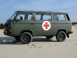 Volkswagen VW T3 Ambulance 4x4